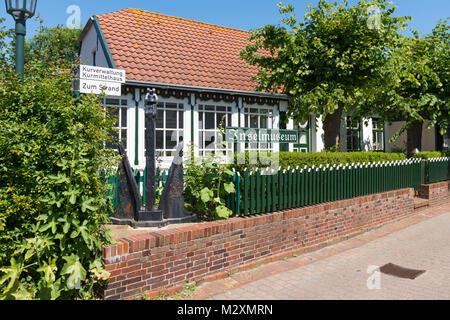 Germany, Lower Saxony, East Frisian islands, the island museum of Spiekeroog. - Stock Photo