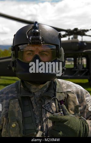 U.S. Army Utah Nation Guard Detachment 2, Company C, 1st General Support Aviation Battalion, 171st Aviation Regiment - Stock Photo