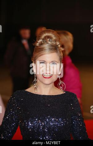 Michaela Schaffrath, Goldene Kamera 2016 in der Messe, Hamburg, 06.02.2016 - Stock Photo