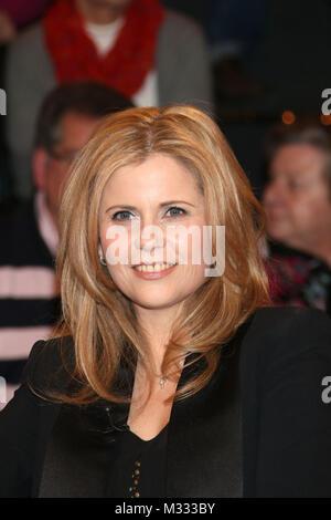 Michaela Schaffrath (Schauspielerin), Lanz, Aufzeichnung vom 22.01.2014, Hamburg - Stock Photo