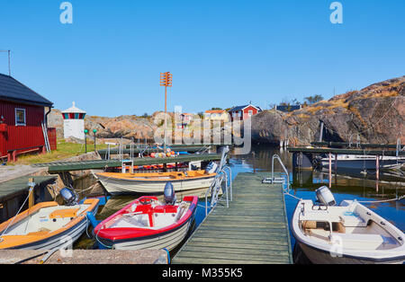 Island community, Oja (Landsort), the southernmost point in the Stockholm archipelago, Sweden, Scandinavia - Stock Photo