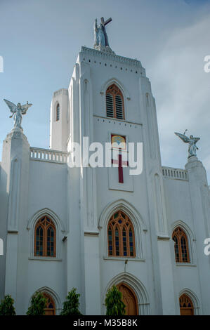 Mar Elia Cathedral, kottayam, Kerala, India, Asia - Stock Photo