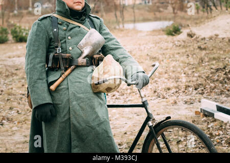 Uniform of the German soldier of the Second World War - Stock Photo