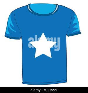 T-shirt with flag Somalia - Stock Photo