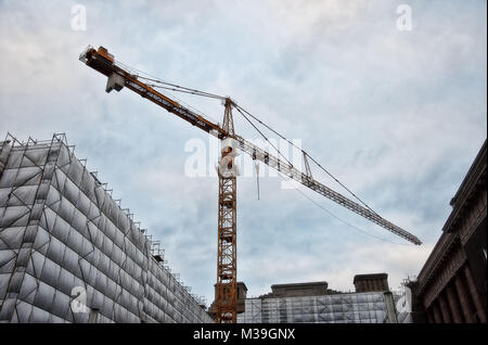 Construction Crane Germany taken in 2009 - Stock Photo
