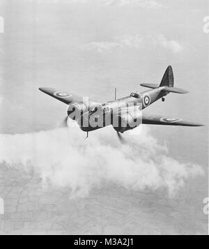 Bristol Blenheim Bomber, Bristol Type 142M, powered by two Bristol 840 h.p. Mercury engines. The first all metal - Stock Photo