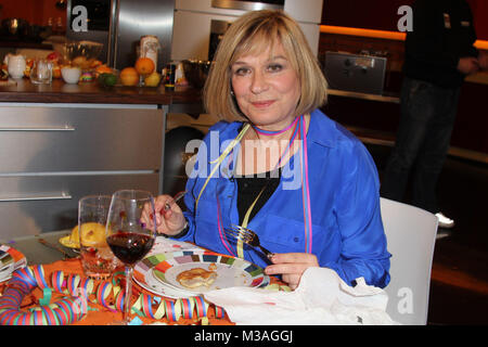 Mary Roos, Lafer, Lichter, Lecker, Sendung 2 vom 09.12.2012, Hamburg - Stock Photo