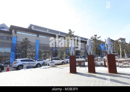 PyeongChang, South Korea. 7th Feb, 2018. General view Figure Skating : the PyeongChang 2018 Olympic Winter Games - Stock Photo