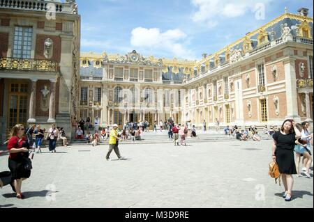 The Palace of Versailles, Paris, France - Stock Photo
