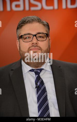 Murat Kayman der DITIB Vorstand in NRW als Talkgast  und Teilnehmer bei der ARD Talkshow Maischberger am Mittwoch - Stock Photo