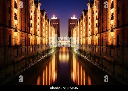 Hamburg HafenCity taken in 2017 - Stock Photo