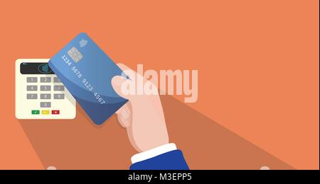 WIRELESS AND CONTACTLESS PAYMENT METHOD - Stock Photo