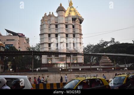The Shree Siddhivinayak Ganapati Mandir is a Hindu temple dedicated to Lord Shri Ganesh. It is located in Prabhadevi, Mumbai, Maharashtra.