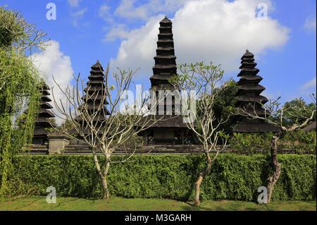 Pura Taman Ayun Temple. Meru Towers in main sanctum. Mengwi. Bali.Indonesia. - Stock Photo