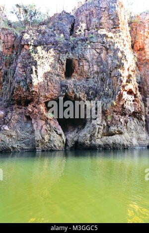 Magnificent Katherine Gorge in Western Australia - Stock Photo