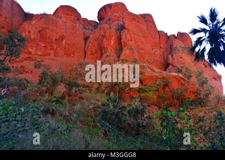 Echidna Chasm Walk,Bungle Bungle ,Western Australia - Stock Photo
