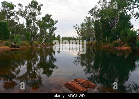 Magnificent Galvans Gorge on the Gibb River Road Kimberly Region in Western Australia - Stock Photo