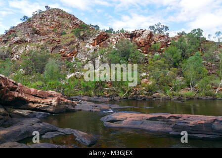 Magnificent Bell Gorge on the Gibb River Road ,Kimberly Region, Western Australia - Stock Photo