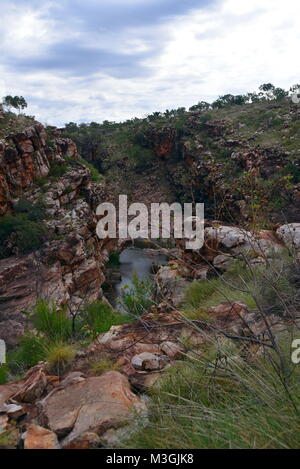 Magnificent Bell Gorge on the Gibb River Road, Kimberly Region, Western Australia - Stock Photo