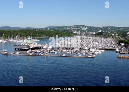 Oslo, 06/2009, Yachthafen - Stock Photo