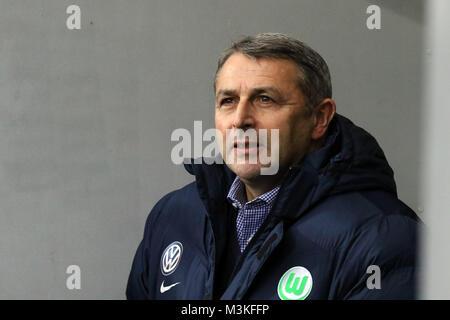 Sportlicher Leiter / Sportdirektor Klaus Allofs (VfL Wolfsburg)  1. BL: 16-17 - 10. Spieltag -  SC Freiburg vs. - Stock Photo