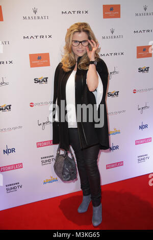 Michaela Schaffrath, Movie meets Media im Hotel Atlantic, Hamburg, 28.11.2016 - Stock Photo