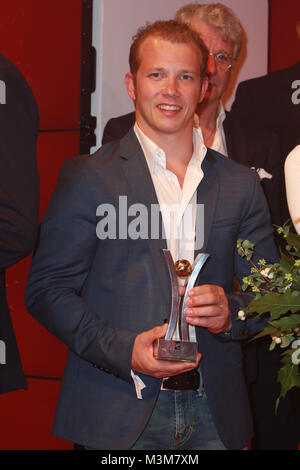Fabian Hambuechen, Sport Bild Award in der Fischauktionshalle, Hamburg, 29.08.2016 - Stock Photo