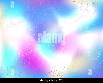 Bright, holographic, abstract, iridescent background. Holographic background. - Stock Photo
