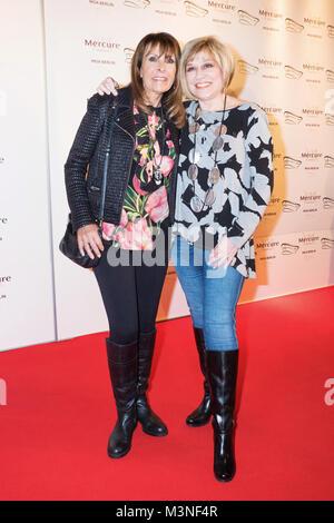 Ireen Sheer und Mary Roos  beim 6. smago! Awards 2017 im Berliner Mercure Hotel MOA Stock Photo