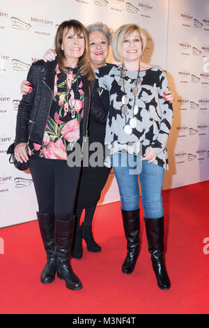 Ireen Sheer, Dagmar Frederic und Mary Roos  beim 6. smago! Awards 2017 im Berliner Mercure Hotel MOA Stock Photo