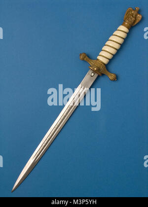 Nazi Naval Officers dagger - Stock Photo