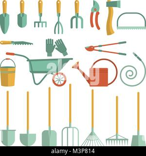 tools for gardening - Stock Photo