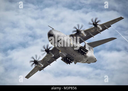 Airbus A400M Atlas military transport aircraft - Stock Photo