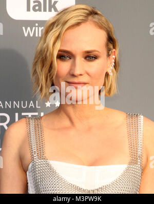 The 23rd Annual Critics' Choice Awards - Arrivals  Featuring: Diane Kruger Where: Los Angeles, California, United - Stock Photo