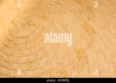 Straw basket texture close - Stock Photo