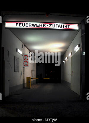 BERLIN-APRIL 2: access for fire department in a Kurfuerstendamm building, Berlin,Germany,on April 2,2011. - Stock Photo
