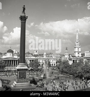 1950s, historical, in this picture from the early 1950s by J Allan Cash we see a view of the Central London public - Stock Photo
