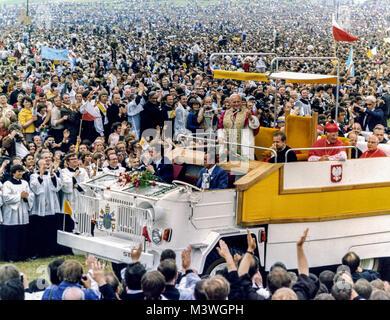 John Paul II Journey to Poland - 2/10 June 1979 - Stock Photo
