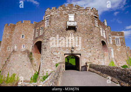 Medieval Dover Castle Gateway, Kent,  Southern England, UK - Stock Photo