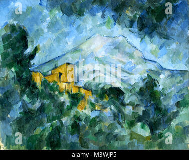 Paul Cézanne, Mont Sainte-Victoire and Château Noir 1904 - 1905 - Stock Photo