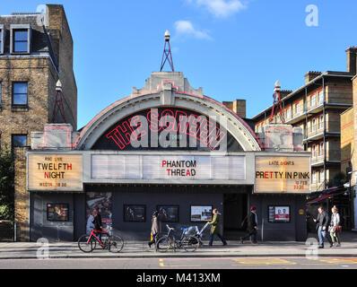 'Everyman Screen on the Green', Upper Street, Islington, London, England, UK - Stock Photo