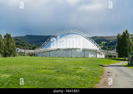 Llangollen  Eisteddfod  pavilion,  Denbighshire, Wales, UK - Stock Photo