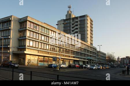 Kingston House, Bond Street, Hull - Stock Photo