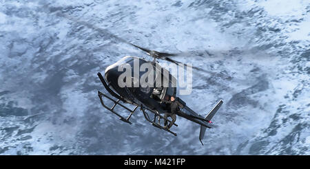 MISSION: IMPOSSIBLE - FALLOUT 2018 Paramount Pictures film with Tom Cruise - Stock Photo
