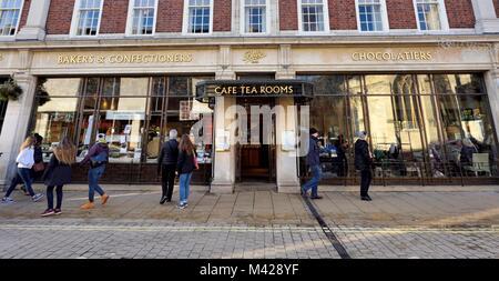 Bettys Cafe tea rooms St. Helen's Square York Yorkshire England UK - Stock Photo