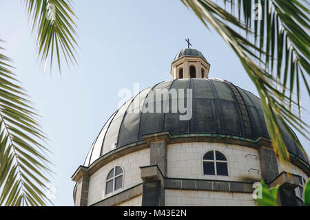 Rooftop of Chapel at Mount of Beatitudes - Stock Photo