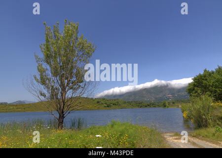 Lac de Padula (Padula lake), Oletta , Corsica - Stock Photo