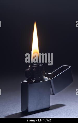 Zippo Lighter - Stock Photo