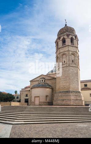 Cathedral of Oristano,Sardinia,Italy - Stock Photo