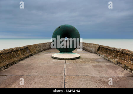 The Afloat sculpture, Brighton Palace Pier, Brighton & Hove, East Sussex, England, UK - Stock Photo
